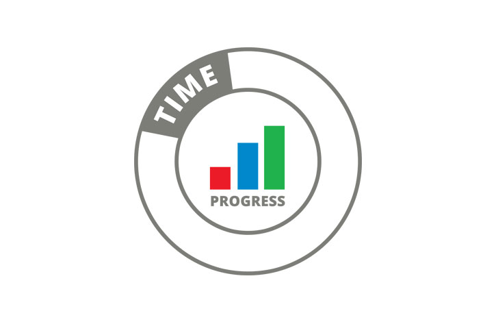 Time Progress Logo Design