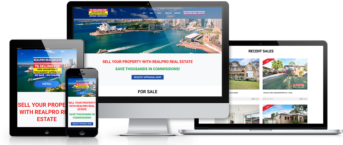 Realpro Real Estate Website